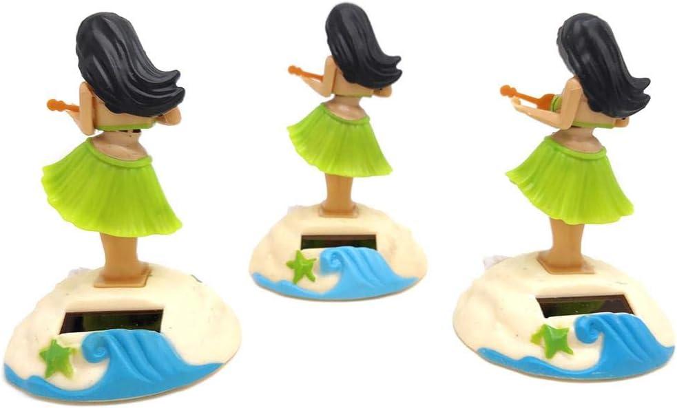 Figurine Solaire Voiture Tableau De Bord Cadeau De Jouets pour Enfants 10.5x6.5x6.5cm Pretty Figurine Mobile Solaire Dansante Voiture Rlorie Danseur Solaire Voiture Poup/ée Fille