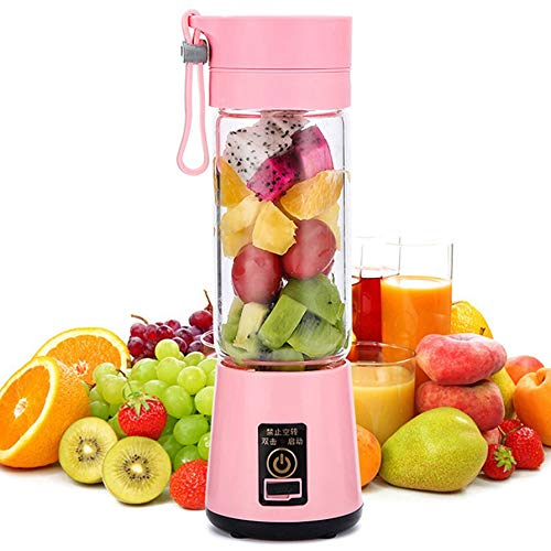 Nichino Portable Size USB Electric Fruit Juicer Handheld Smoothie Maker Blender Rechargeable Mini Portable Juice Cup Water