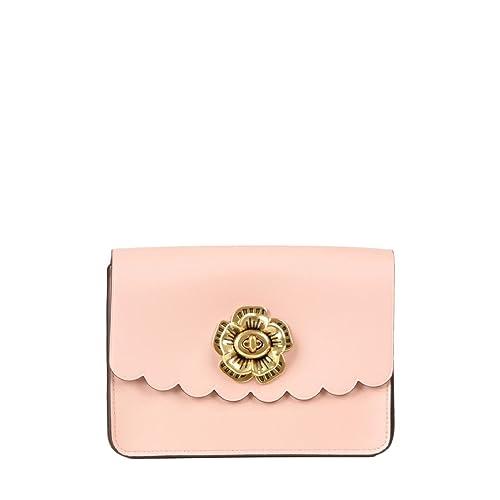 560715e039b44 COACH Women s Tea Rose Turnlock Bowery Crossbody Ol Peony One Size   Amazon.ca  Shoes   Handbags