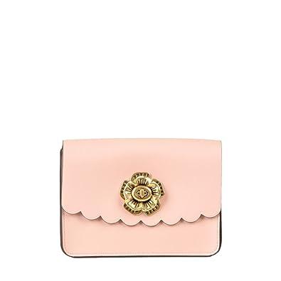 db156a7673fcf COACH Women s Tea Rose Turnlock Bowery Crossbody Ol Peony One Size   Handbags  Amazon.com
