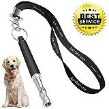Dog Whistle, Professional Dog Training Whistle to Stop Barking, Adjustable Frequency Ultrasonic Sound Training...
