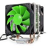 VT BigHome Dual Fan Hydraulic CPU Cooler Heatpipe Fans Heatsink Radiator For Intel LGA775/1156/1155 AMD AM2/AM2+/AM3/AM4 for Pentium