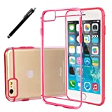 iPhone 6S Plus Case, E LV iPhone 6 Plus Case Cover Full Body Hybrid Case Cover - Slim Fit Scratch-Resistant Bumper Case Cover for iPhone 6 Plus / iPhone 6S Plus with 1 Stylus and 1 E LV Microfiber