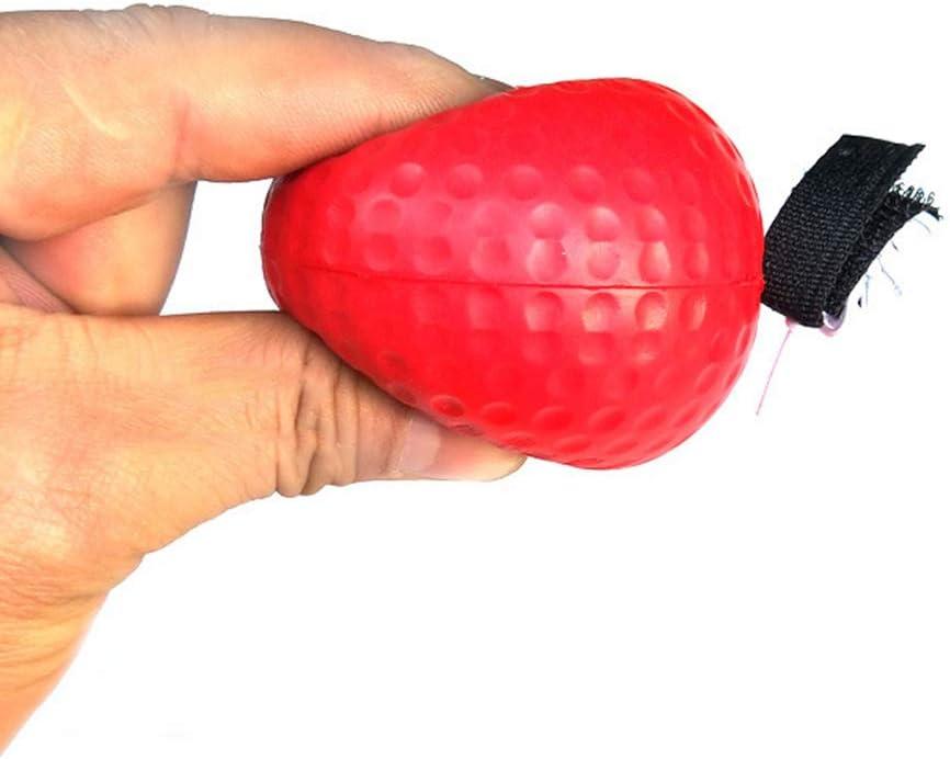 Sport Boxing Punch Ejercicio Ball con Diadema para Entrenamiento de Velocidad de reacci/ón para Adultos//ni/ños BEARCOLO Boxeo port/átil Reflex Ball