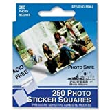 12 PACK PHOTO MOUNTS SQUARE 250/BX Drafting, Engineering, Art (General Catalog)