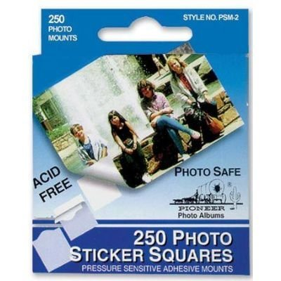 12 PACK PHOTO MOUNTS SQUARE 250/BX Drafting, Engineering, Art (General Catalog) by PIONEER