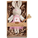 Mud Pie Little Girl Mini Tooth Fairy Bunny
