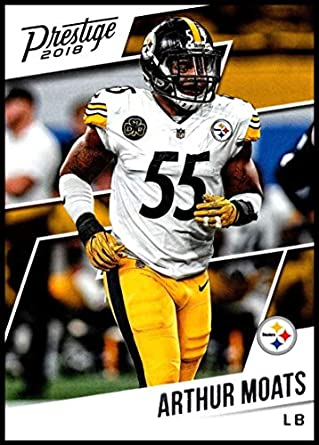 separation shoes bc1e0 35791 Amazon.com: 2018 Prestige NFL #151 Arthur Moats Pittsburgh ...