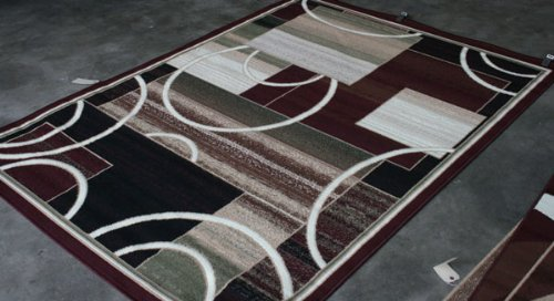 rugs rug products beverly modern contemporary burgundy area hills discount red
