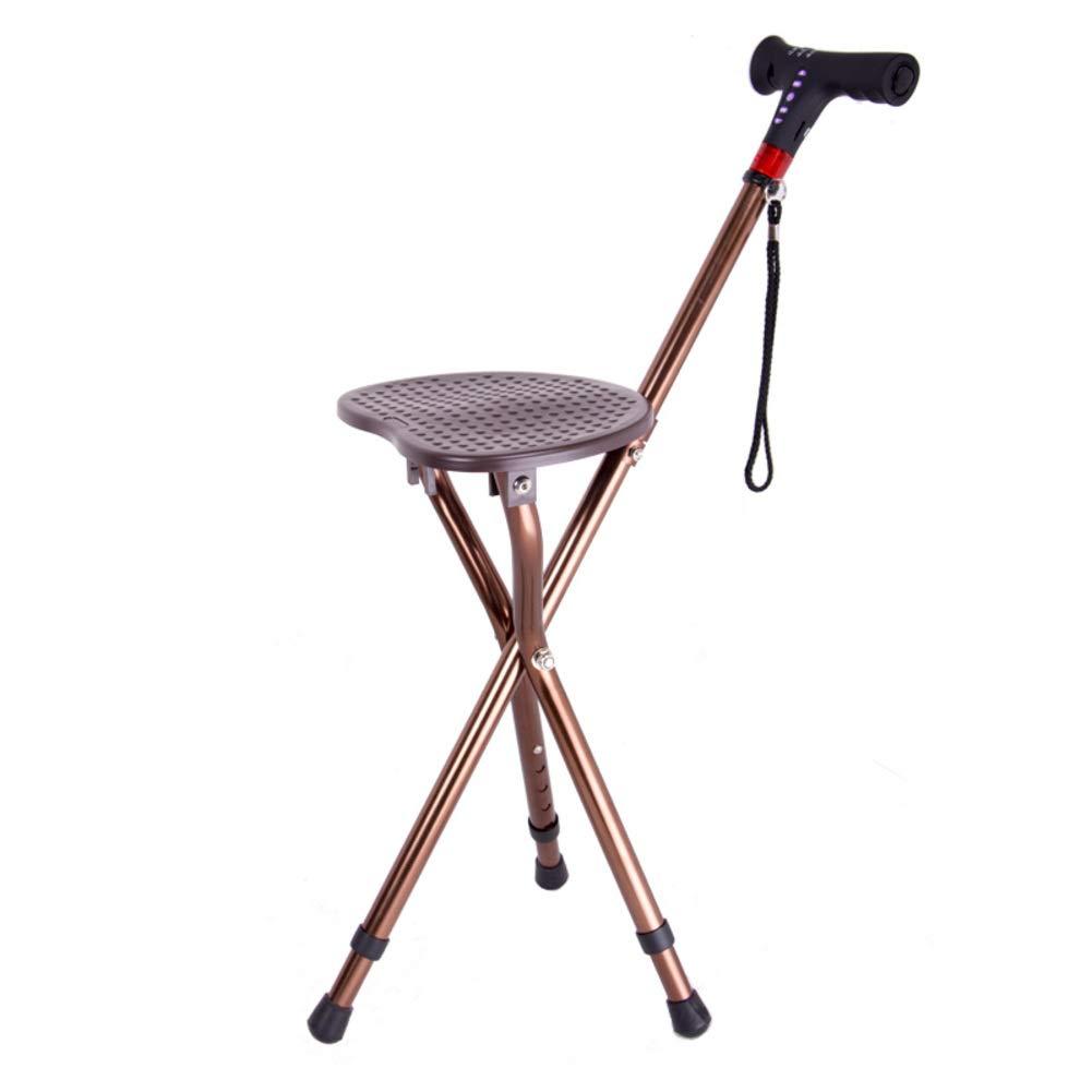 誕生日プレゼント 多機能 三脚チェア Mp3-コーヒー 折り畳み式 折りたたみ 3脚杖 折りたたみ と Ledライト, 三脚チェア 高さ調節可能 軽量 歩行補助杖 医療援助 マッサージ 松葉杖 と ラジオ そして Mp3-コーヒー B07LG6QPTV, 世田谷家具Interior  Est.1986:a67435d6 --- a0267596.xsph.ru