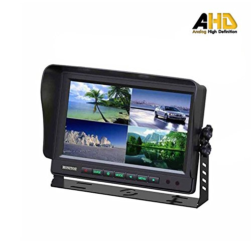 Ares Vision 7 Vehicle Monitor /& Wireless Camera Bundle 2.4GHZ 2 Cameras