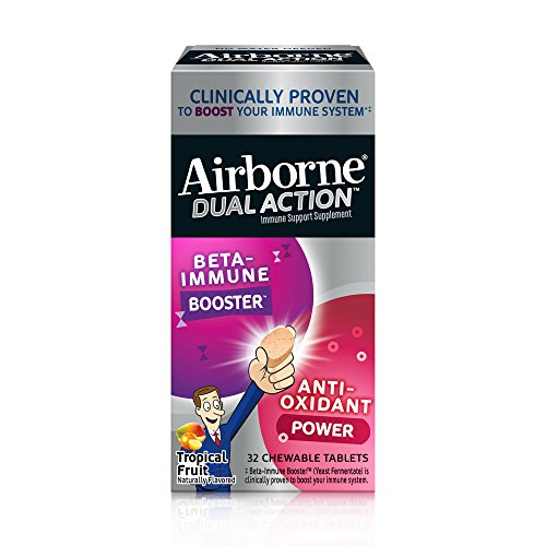 Airborne Action Tropical Chewable Tablets
