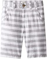The Children's Place Little Boys' Linen Stripe Short