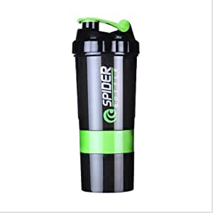 BYBAY Botella Proteína Creativa Para Deportes, Fitness ...