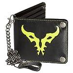 JINX World of Warcraft: Legion Bi-Fold Chain Wallet, Black, One Size