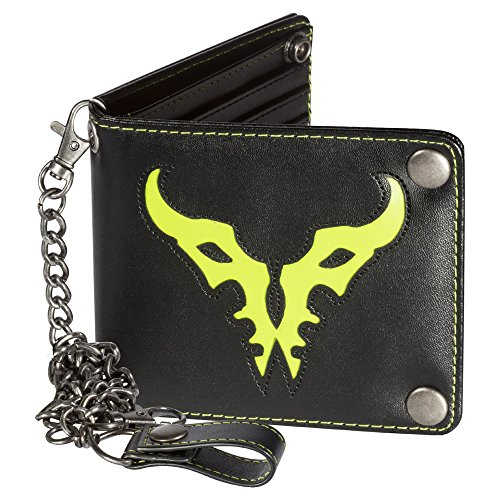 JINX World of Warcraft: Legion Bi-Fold Chain Wallet, Black, One Size