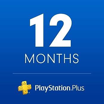 Sony PlayStation Plus 12-Month Membership [Digital Download]