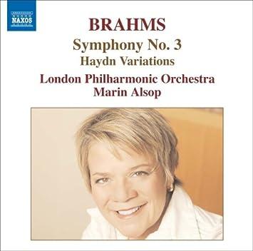 ブラームス:交響曲第3番