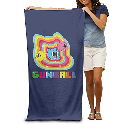 [LCYC The Amazing World Of Gumball Adult Vibrant Beach Or Pool Hooded Towel 80cm*130cm] (Monster High Costumes Walmart)