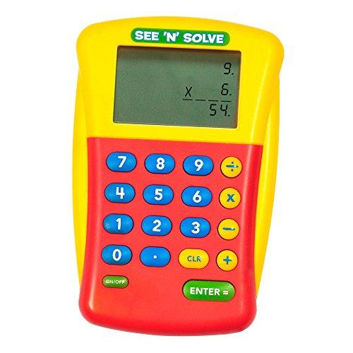 (Educational Insights See 'N' Solve Visual Calculator)