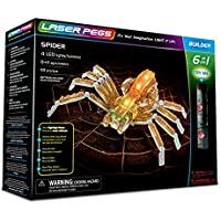 Laser Pegs Spider 6-in-1 Building Set