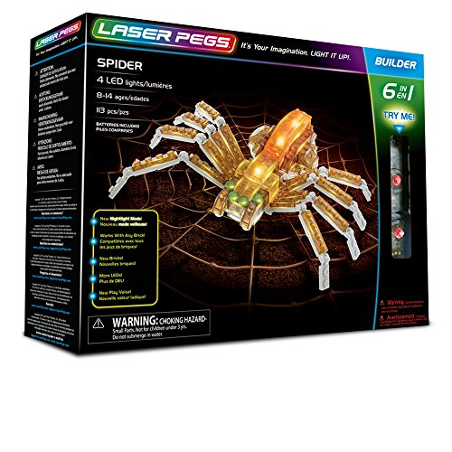Laser Pegs Spider 6In1
