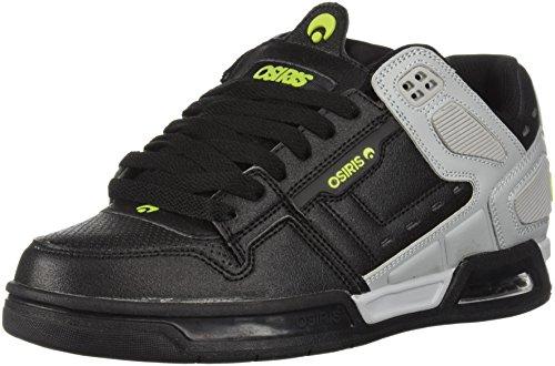 White Light 39 Lime de Chaussures Homme à pour Grey Ville EU Lacets Black Brigade Osiris z8Fqw1Axx