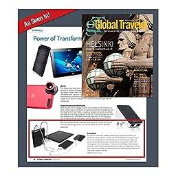 Digital Treasures Power Flask Portable Charging Power (13,000mAh)