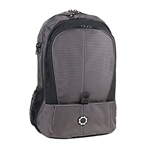 DadGear Backpack Diaper Bag - All Steel
