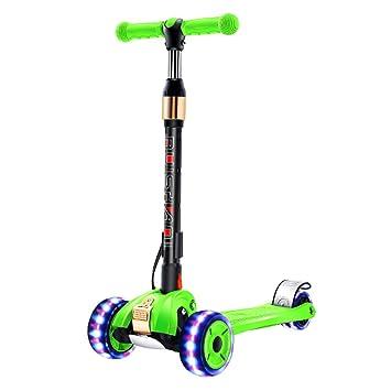 Patinetes de tres ruedas Kick Scooter para niños con Rueda ...