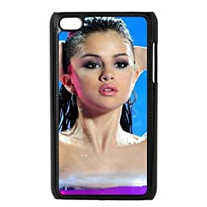 ipod 4 cell phone cases Black Selena Gomez fashion phone cases UTE441672