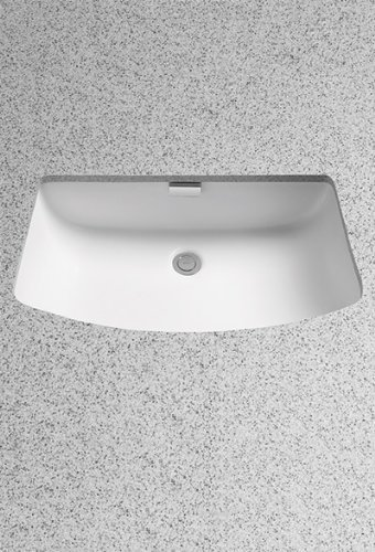 (TOTO Lt967#01 Soiree Under Counter Lavatory, Cotton White)