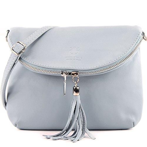 Shoulder Clutch Girl nappa Ital Small Bag Bag Bag Leather Ice leather T07 Shoulder Underarm Blue Bag zqzEwtCc