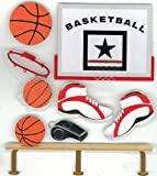 Jolee's Boutique Basketball Dimensional Stickers