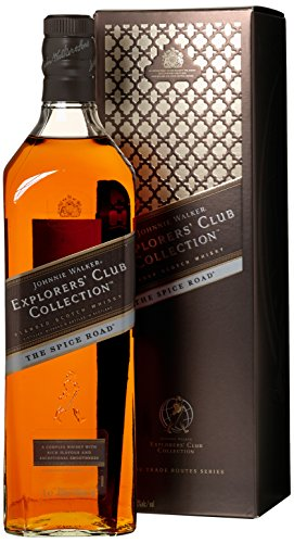 Johnnie Walker Explorer's Club Collection The Spice Road mit Geschenkverpackung  Whisky (1 x 1 l)