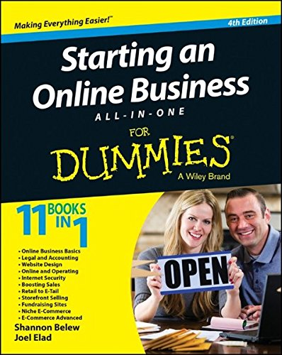 Download Starting an Online Business All-in-One For Dummies pdf epub