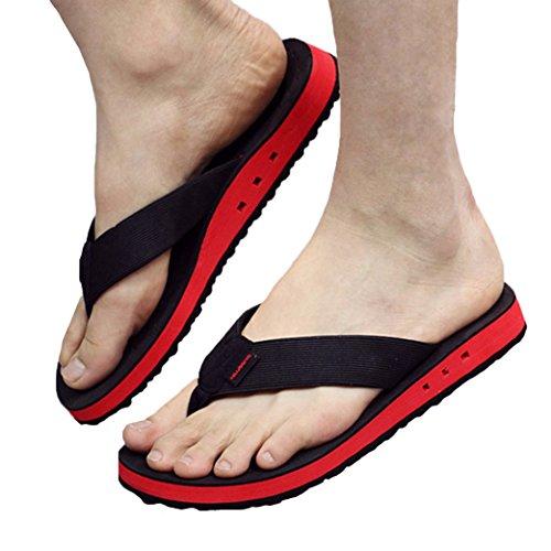 Qplus Q-plus-mens Casual Teenslippers Strand Slipper Outdoor & Indoor Sandaal Beige