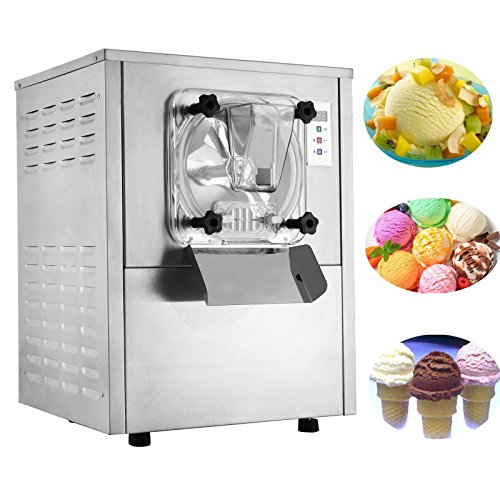 Happybuy 1400W Commercial Hard Ice Cream Maker for Recreation Center Churches, 20L/H