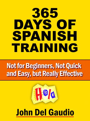 Training: For Use with How to Become Fluent in Spanish (Not for Beginners, Not Quick and Easy, but Really Effective) ()