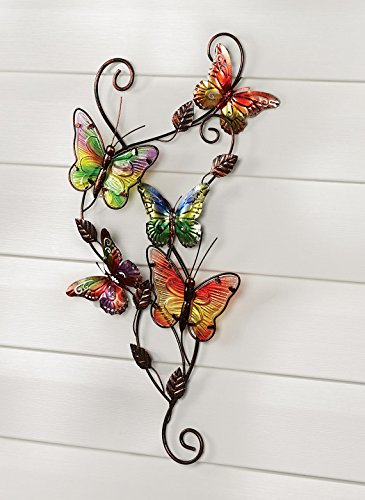 Carol Wright Gifts Butterfly Wall Scroll