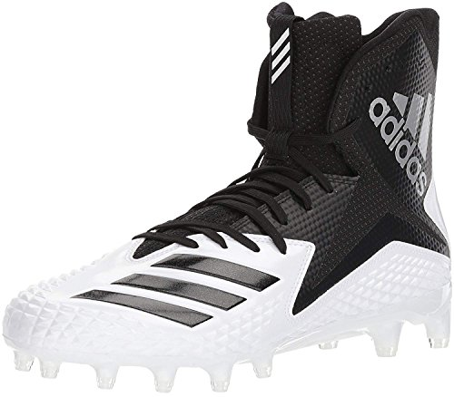 adidas Men's Freak X Carbon Mid Football Shoe, White/Core Black/Core Black, 10 M US by adidas