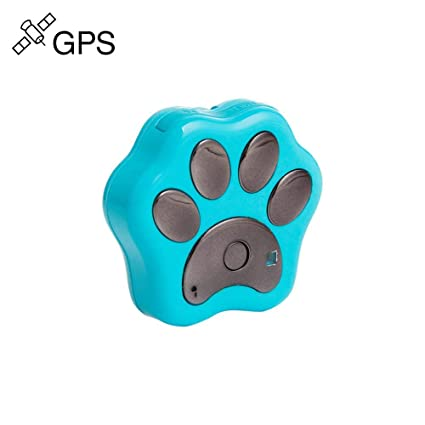 ZYWX Mini Pet GPS Tracker, Smart Wi-Fi Bluetooth Tracking Device Cat and Dog