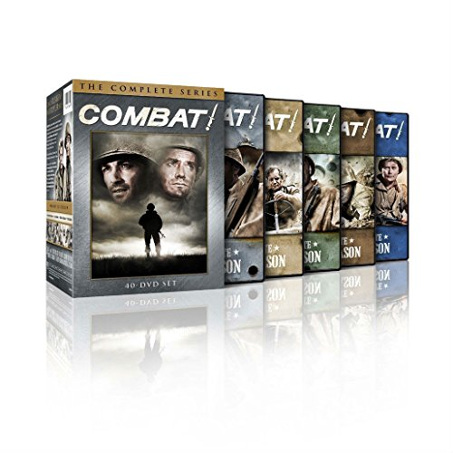 Combat! The Complete Series DVDS Seasons 1,2,3,4,5 Disc Box Set New & (Series Iii Dvd)