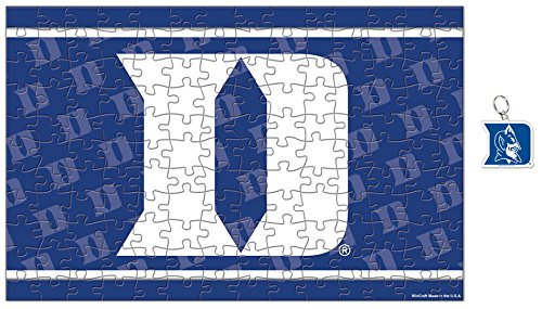 Duke Blue Devils Puzzle and Key Ring Gift Set - Duke Blue Devils Gym Bag