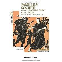 Famille et Société Dans Monde Grec et Italie Ve Siècle (horizon)