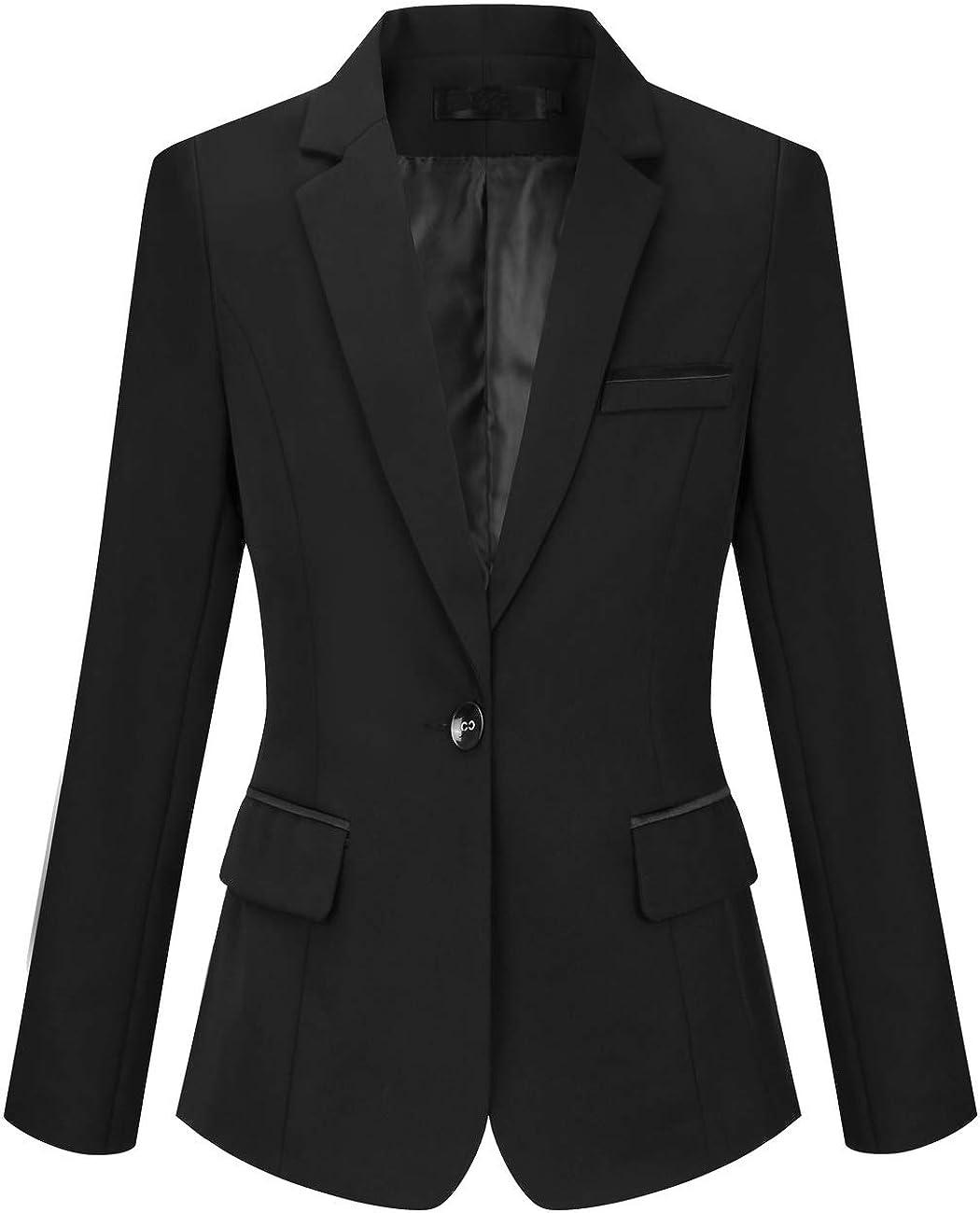 Amazon.com: Foucome Blazer - Conjunto de trajes para mujer ...