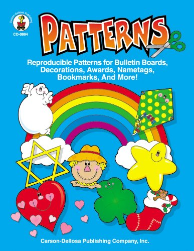 Patterns, Grades PK - 5: Reproducible Patterns for Bulletin Boards, Decorations, Awards, Nametags, Bookmarks, And More!]()