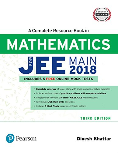 A Complete Resource Book for JEE Main 2018: Mathematics
