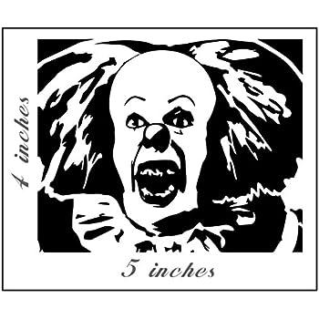 Amazon.com: Chucky Face Vinyl Cut Decal Sticker | Horror