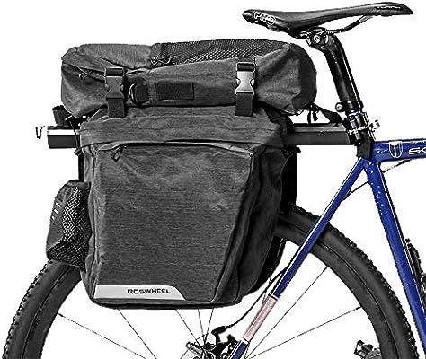 WOTOW Bolsa de Maletero de Bicicleta, Maletas de Almacenamiento de ...